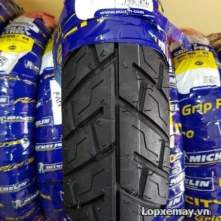 Lốp michelin city grip pro 7090-17 cho exciter sirius - 1