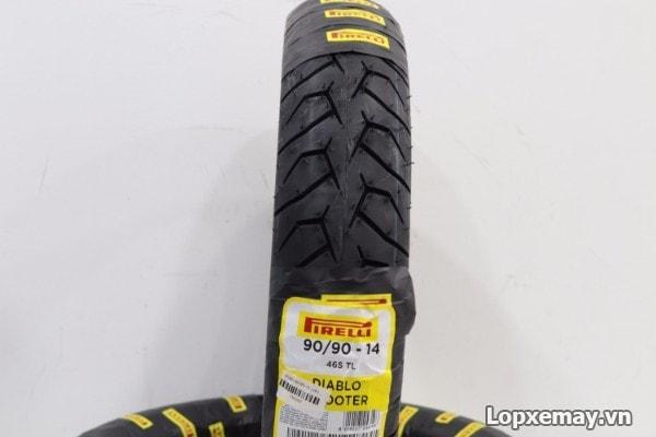 Lốp pirelli 9090-14 diablo scooter cho vario vision - 1