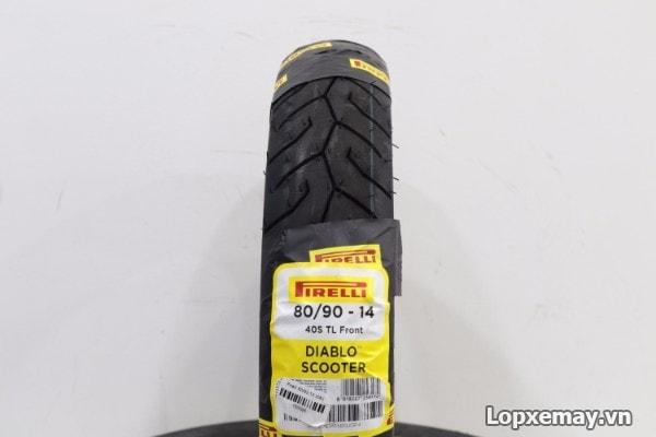 Lốp pirelli 8090-14 diablo scooter cho air blade click - 1