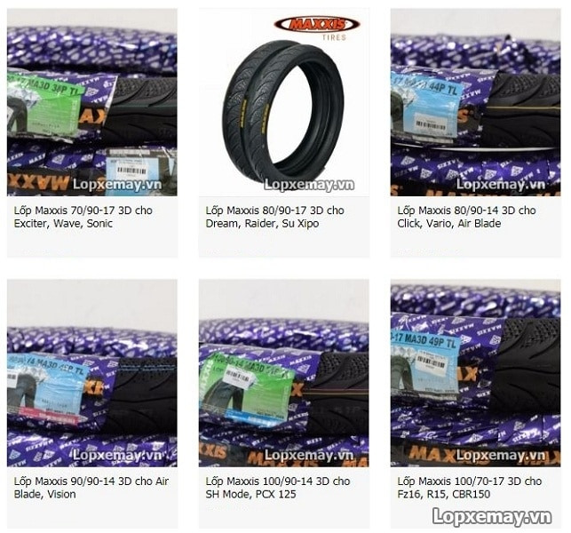 Bán lốp xe máy maxxis tại quận 7 hcm - 1