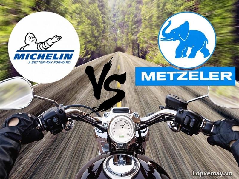 So sánh lốp michelin và lốp metzeler nên chọn loại lốp nào - 1