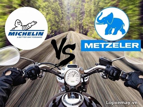 So sánh vỏ xe máy michelin và vỏ xe máy metzeler loại nào tốt hơn - 1
