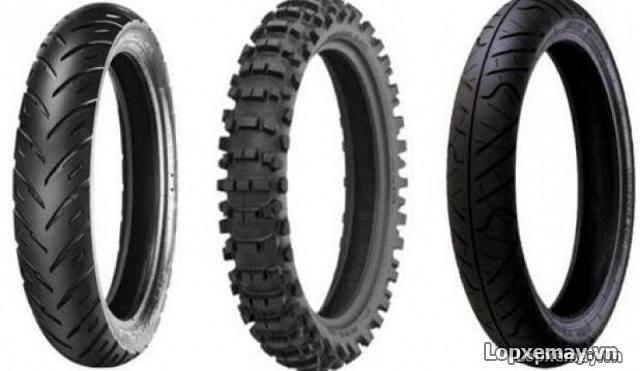 Cách phân loại vỏ xe máy và các loại lốp không săm phổ biến - 1