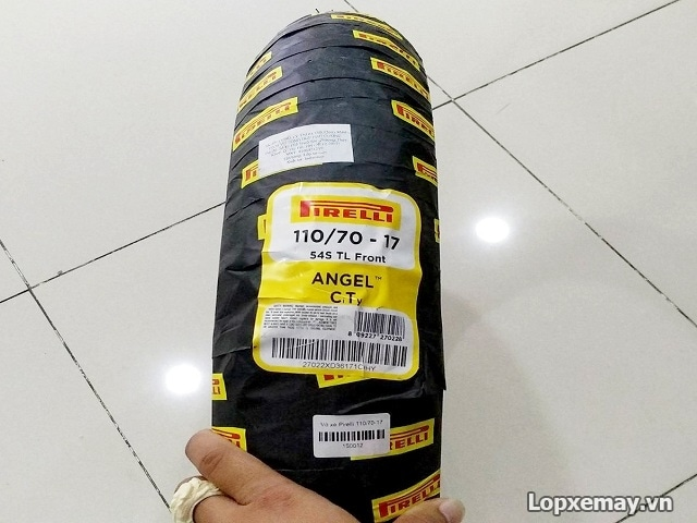 Lốp pirelli 11070-17 angel city cho cbr 150 r3 z300 - 1
