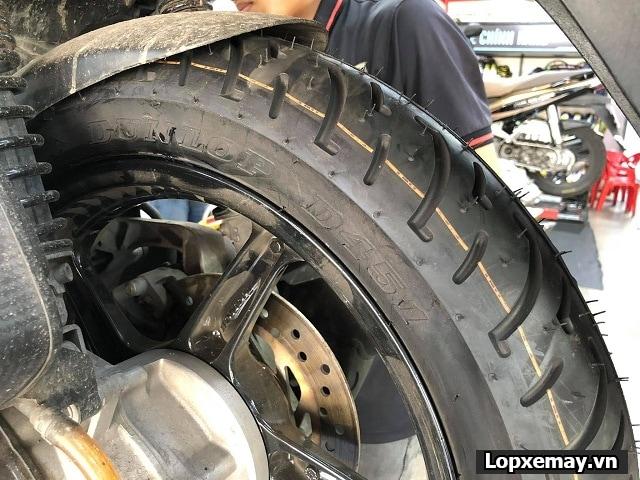 Thay cặp lốp dunlop cho sh ý có tốt không  - 3