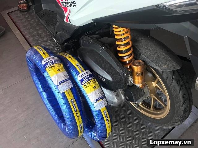 Honda vario 150 thay cặp vỏ michelin có tốt không giá bao nhiêu - 3