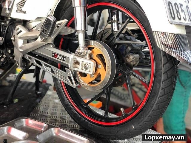 Honda dream độ cặp lốp michelin có phù hợp không  - 2