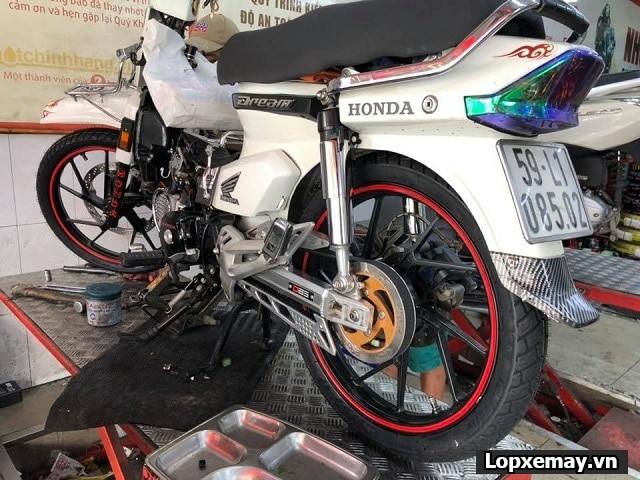 Honda dream độ cặp lốp michelin có phù hợp không  - 1