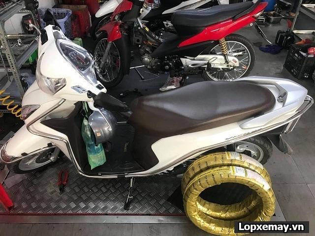 Vision lên cặp lốp dunlop có phù hợp không giá bao nhiêu - 1
