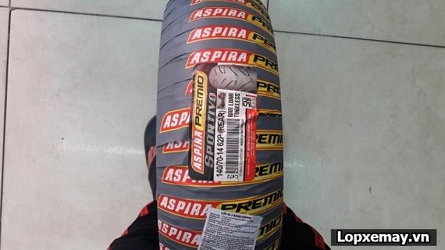 Lốp aspira sportivo lên cho bánh sau nvx có phù hợp không thông số lốp cho nvx - 3