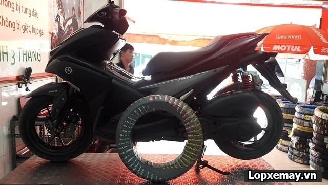 Lốp aspira sportivo lên cho bánh sau nvx có phù hợp không thông số lốp cho nvx - 1