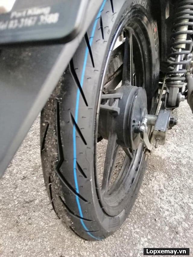 Lốp xe máy pirelli 8090-17 diablo rosso sport cho exciter150 wavedream future - 2