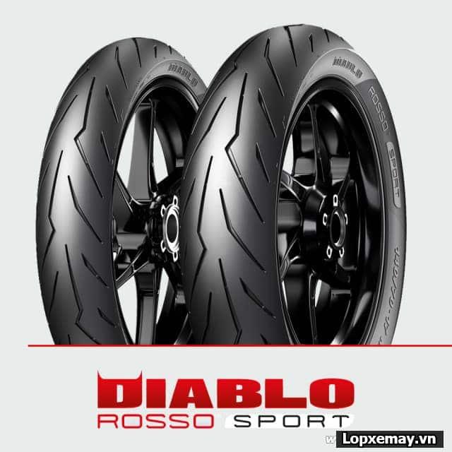 Thay lốp xe máy pirelli cho sonic 150 loại nào tốt giá bao nhiêu tiền - 5