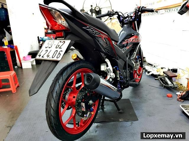 Thay lốp xe máy pirelli cho sonic 150 loại nào tốt giá bao nhiêu tiền - 1