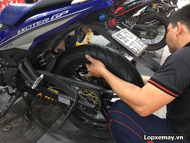 Tổng hợp các loại lốp xe máy cho yamaha exciter 150 - 2