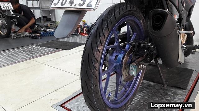 Tổng hợp các loại lốp xe máy tốt nhất cho raider fi - 4