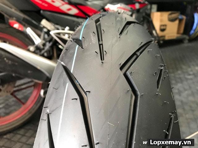 Lốp pirelli 15060-17 diablo rosso sport cho cbr500 r3 mt-03z300 - 1