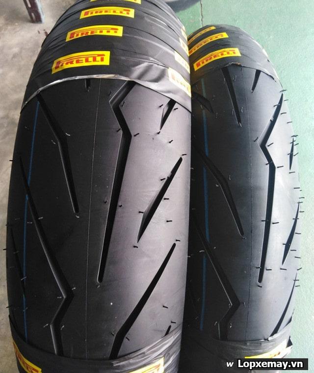 Lốp pirelli 13070-17 diablo rosso sport cho winner exciter cbr150 r15 - 1