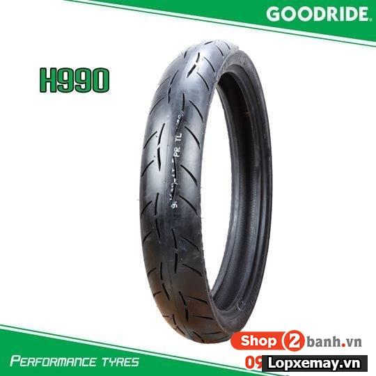 Vỏ xe goodride h990 8090-17 cho exciter 150 winner - 1