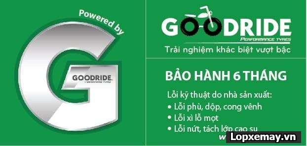 Vỏ xe goodride h990 10080-17 cho bánh sau exciter 150 winner - 2