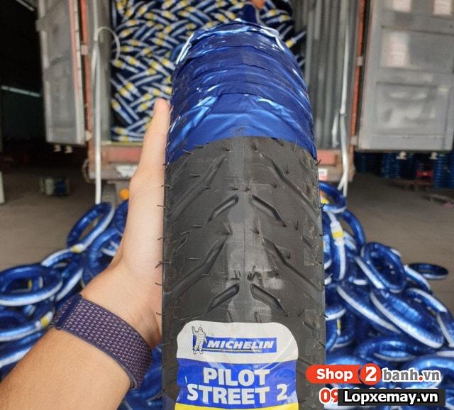 Lốp michelin pilot street 2 8090-17 cho wavedream - 1