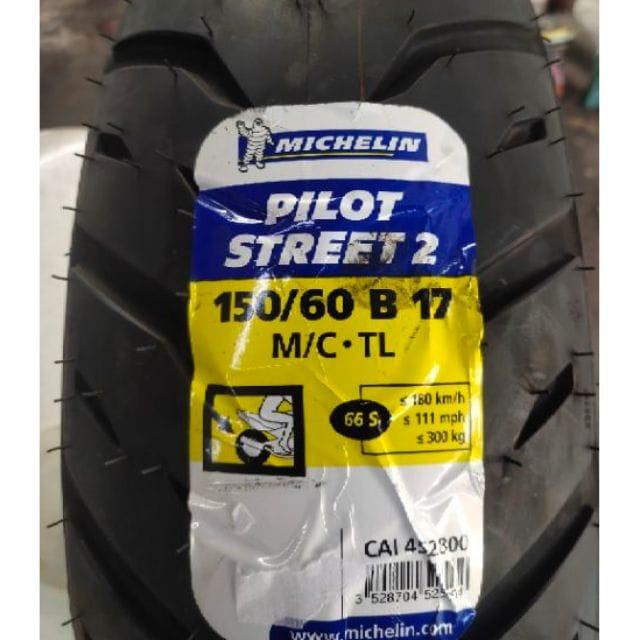 Lốp michelin pilot street 2 15060-17 cho cbr250 r3 - 1