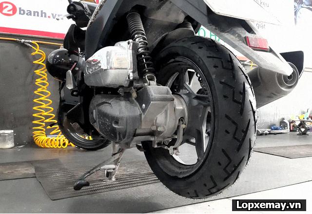 Lốp chống trượt cho xe air blade đi trong mùa mưa an toàn - 6