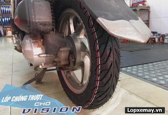 Lốp chống trượt cho xe vision đi trong mùa mưa an toàn - 3