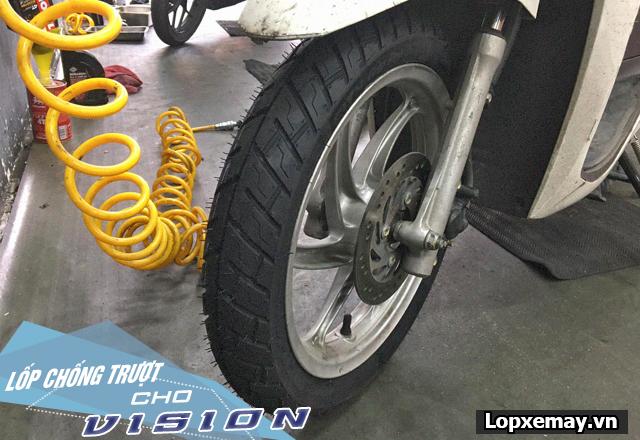 Lốp chống trượt cho xe vision đi trong mùa mưa an toàn - 5