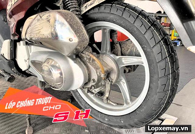 Lốp chống trượt cho xe sh đi trong mùa mưa an toàn - 4