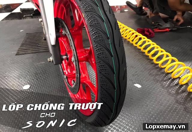 Lốp chống trượt cho xe sonic 150 đi an toàn trong mùa mưa - 5