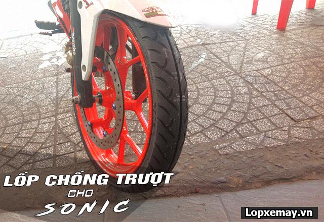 Lốp chống trượt cho xe sonic 150 đi an toàn trong mùa mưa - 4