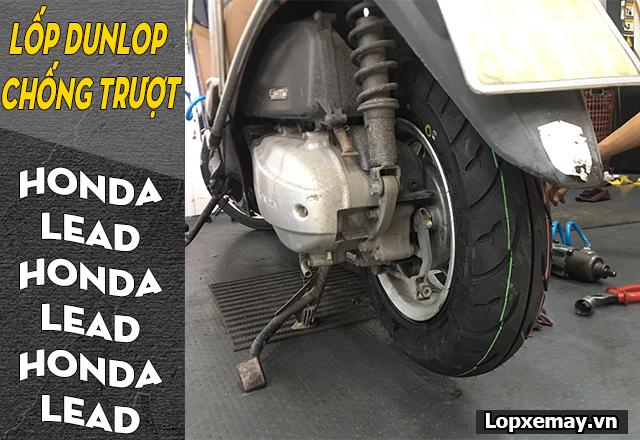 Lốp dunlop cho honda lead loại nào chống trượt tốt đi mùa mưa an toàn - 3
