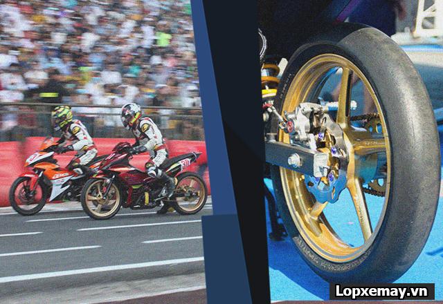 Vì sao lốp xe đua không được lắp trên xe chạy phố - 1