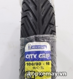 Lốp Michelin City Grip 100/80-16 cho SH, Liberly