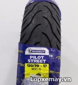 Lốp Michelin Pilot Street 120/70-17 cho Ducati Monster, Z1000
