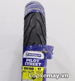 Lốp Michelin Pilot Street 80/90-17 cho Future, Jupiter
