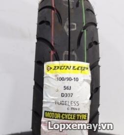 Lốp Dunlop 100/90-10 D307 cho Lead, Acruzo