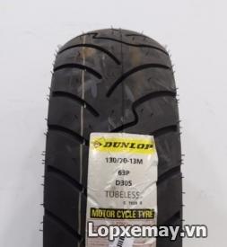 Lốp Dunlop 130/70-13 D305 cho Dylan, PS 150i