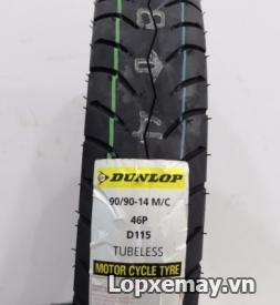 Lốp Dunlop 90/90-14 D115 cho Vario, Air Blade