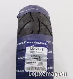 Lốp Metzeler 120/70-17 cho Z800, Ducati Monster