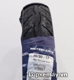 Lốp Metzeler 90/80-17 cho R15, CBR 150, Fz16
