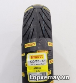 Lốp Pirelli 120/70-17 Angel City cho CBR1000R, BMW S1000RR