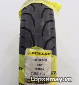 Lốp Dunlop 100/90-14 TT900F cho PCX, SH Mode