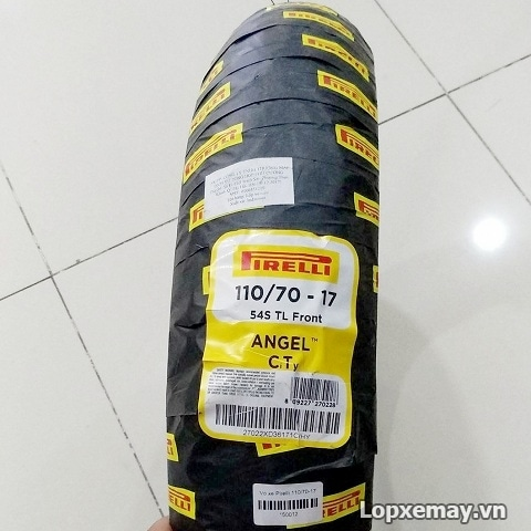 Lốp Pirelli 110/70-17 Angel City cho CBR 150, R3, Z300
