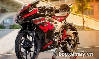 GSX-R150 độ lốp 150 được không? Giá vỏ xe GSX-R150?