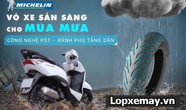Loại lốp nào tốt nhất cho xe tay ga trong mùa mưa bão?