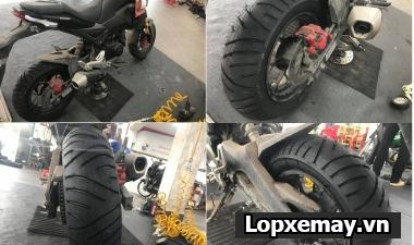 Thay lốp Metzeler Me 7 Teen cho Honda MSX có tốt không?