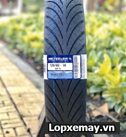 Lốp Metzeler RoadTec 120/80-16 cho SH