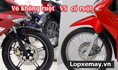 Lốp xe không ruột có tốt hơn lốp có ruột hay không?